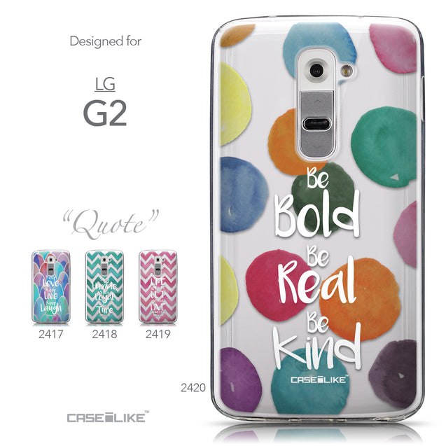 Collection - CASEiLIKE LG G2 back cover Quote 2420