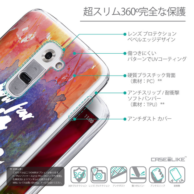 Details in Japanese - CASEiLIKE LG G2 back cover Quote 2421