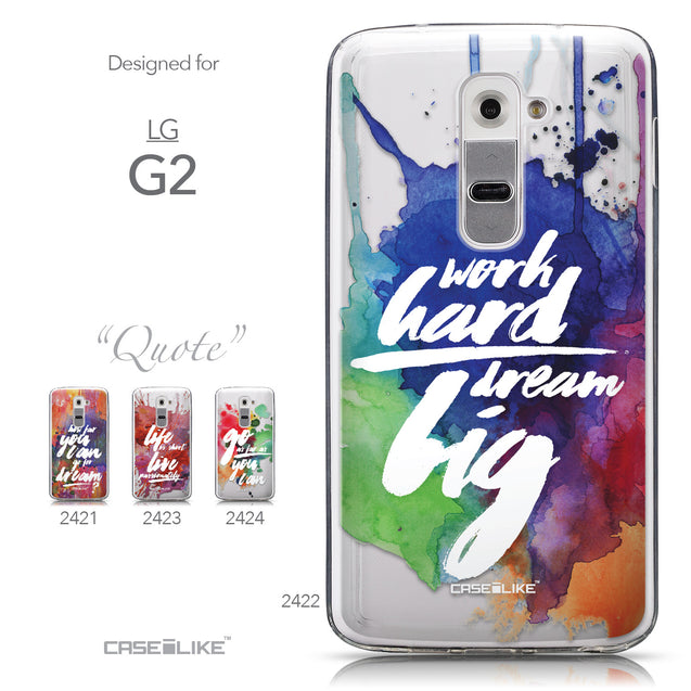 Collection - CASEiLIKE LG G2 back cover Quote 2422