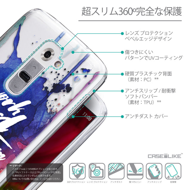 Details in Japanese - CASEiLIKE LG G2 back cover Quote 2422