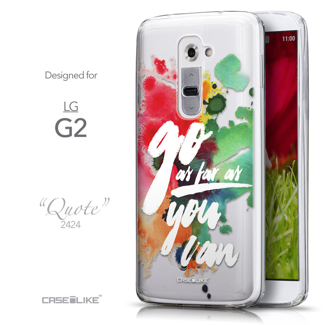 Front & Side View - CASEiLIKE LG G2 back cover Quote 2424