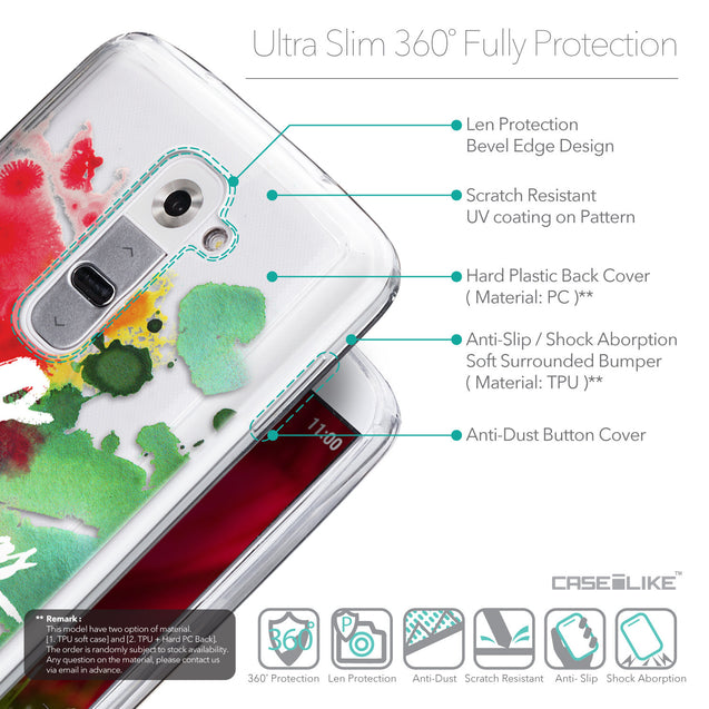 Details in English - CASEiLIKE LG G2 back cover Quote 2424