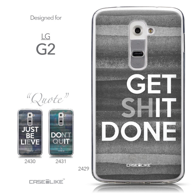 Collection - CASEiLIKE LG G2 back cover Quote 2429