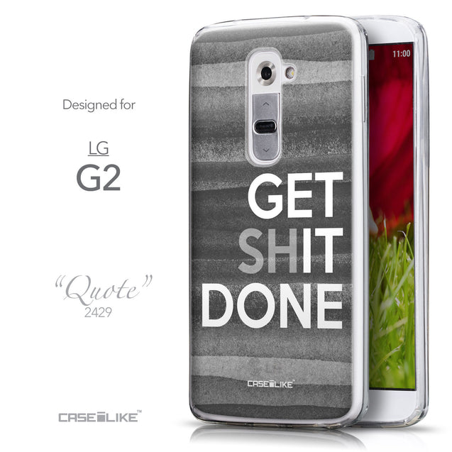 Front & Side View - CASEiLIKE LG G2 back cover Quote 2429