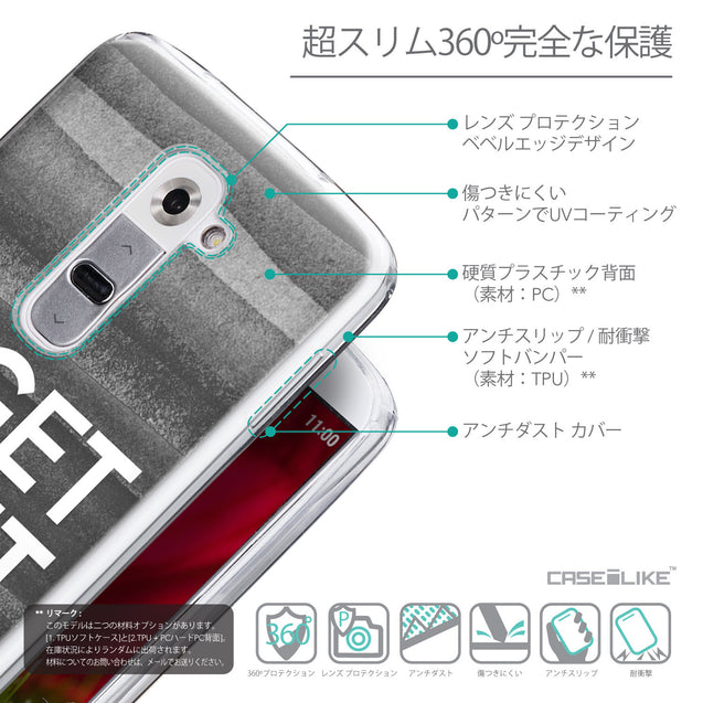 Details in Japanese - CASEiLIKE LG G2 back cover Quote 2429