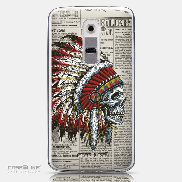 CASEiLIKE LG G2 back cover Art of Skull 2522