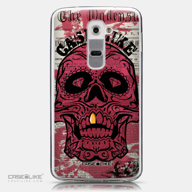 CASEiLIKE LG G2 back cover Art of Skull 2523