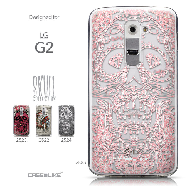 Collection - CASEiLIKE LG G2 back cover Art of Skull 2525