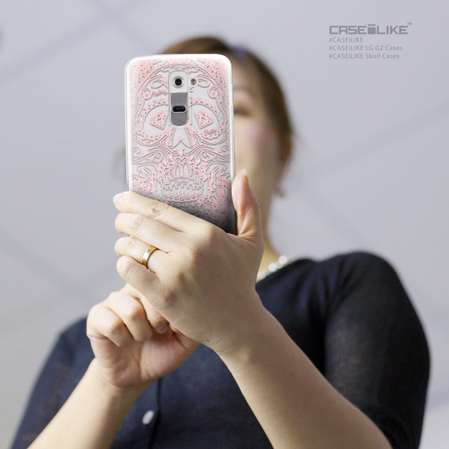 Share - CASEiLIKE LG G2 back cover Art of Skull 2525