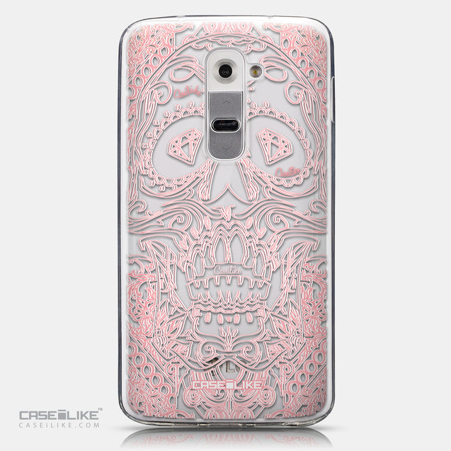 CASEiLIKE LG G2 back cover Art of Skull 2525