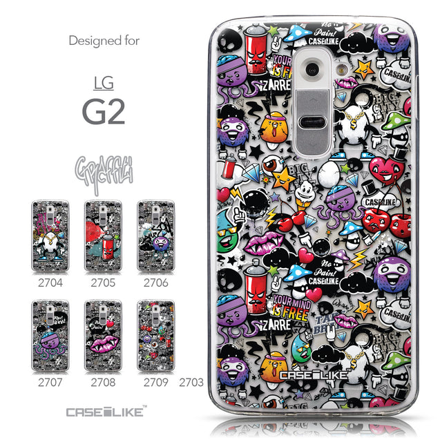 Collection - CASEiLIKE LG G2 back cover Graffiti 2703