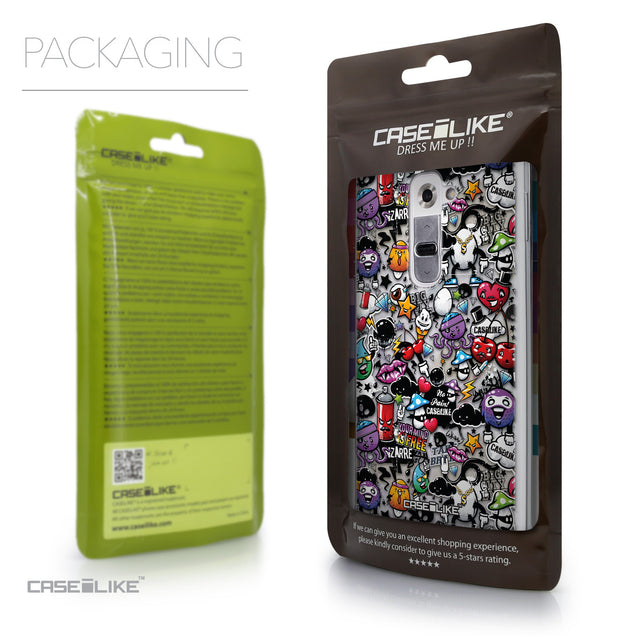 Packaging - CASEiLIKE LG G2 back cover Graffiti 2703