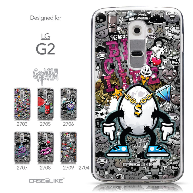 Collection - CASEiLIKE LG G2 back cover Graffiti 2704