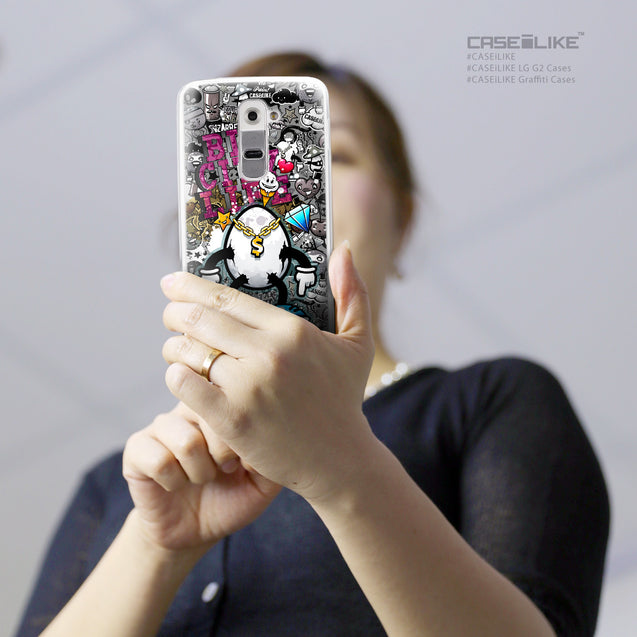 Share - CASEiLIKE LG G2 back cover Graffiti 2704