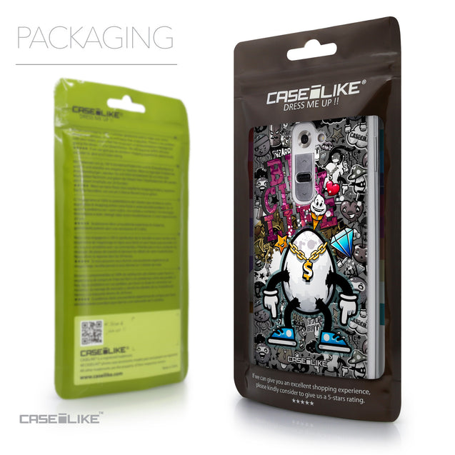 Packaging - CASEiLIKE LG G2 back cover Graffiti 2704