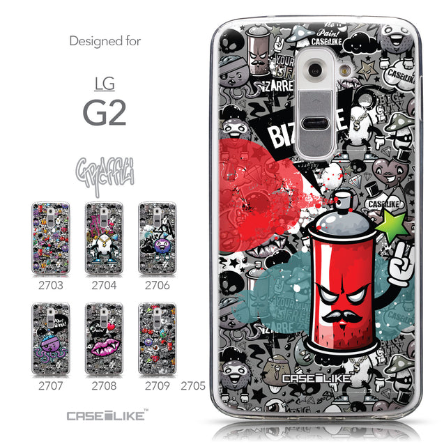 Collection - CASEiLIKE LG G2 back cover Graffiti 2705