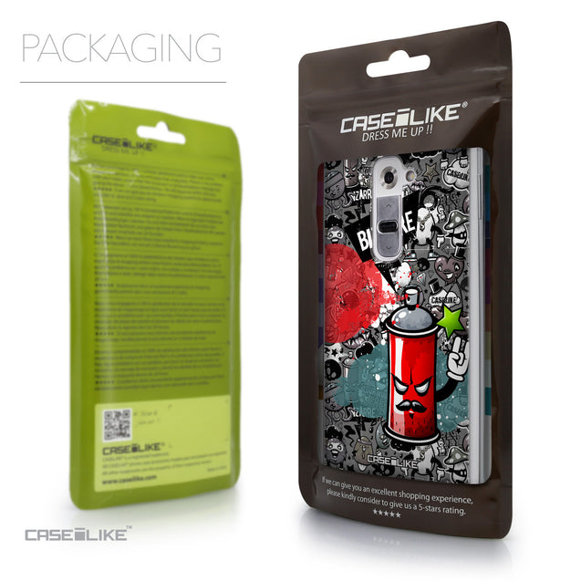 Packaging - CASEiLIKE LG G2 back cover Graffiti 2705