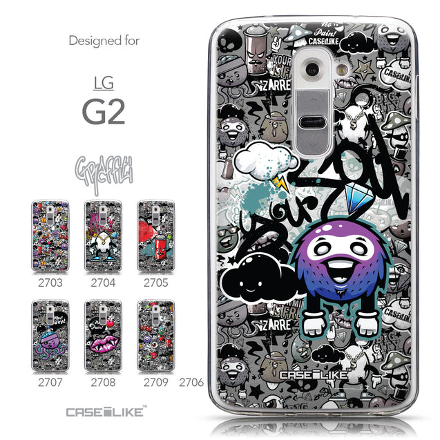 Collection - CASEiLIKE LG G2 back cover Graffiti 2706