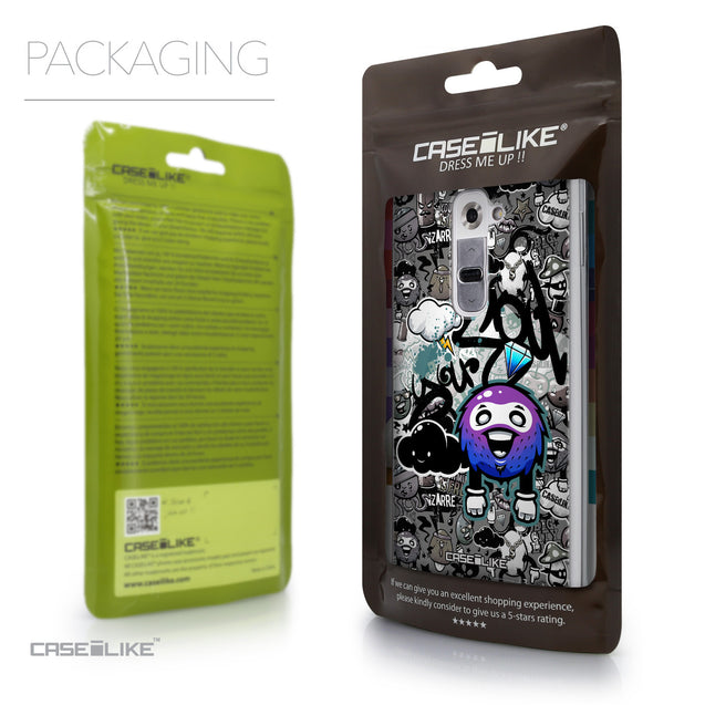 Packaging - CASEiLIKE LG G2 back cover Graffiti 2706