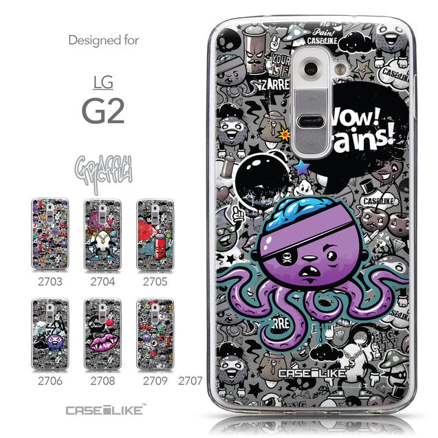 Collection - CASEiLIKE LG G2 back cover Graffiti 2707