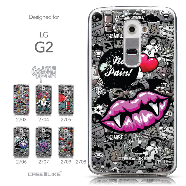 Collection - CASEiLIKE LG G2 back cover Graffiti 2708