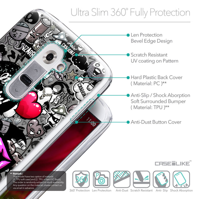 Details in English - CASEiLIKE LG G2 back cover Graffiti 2708