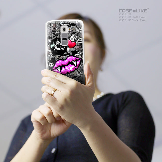 Share - CASEiLIKE LG G2 back cover Graffiti 2708