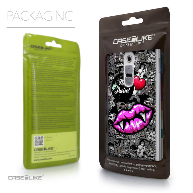 Packaging - CASEiLIKE LG G2 back cover Graffiti 2708