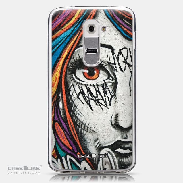 CASEiLIKE LG G2 back cover Graffiti Girl 2724