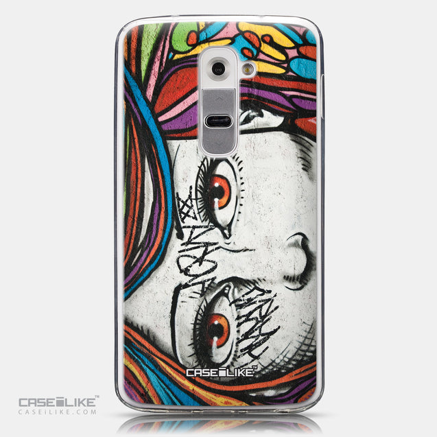 CASEiLIKE LG G2 back cover Graffiti Girl 2725
