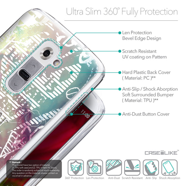 Details in English - CASEiLIKE LG G2 back cover Graffiti 2726