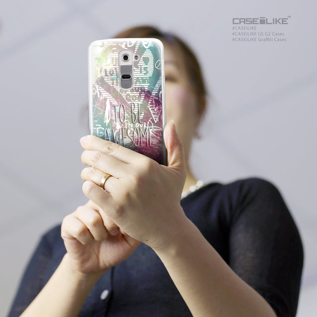 Share - CASEiLIKE LG G2 back cover Graffiti 2726