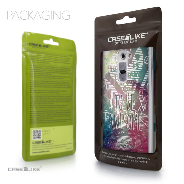 Packaging - CASEiLIKE LG G2 back cover Graffiti 2726
