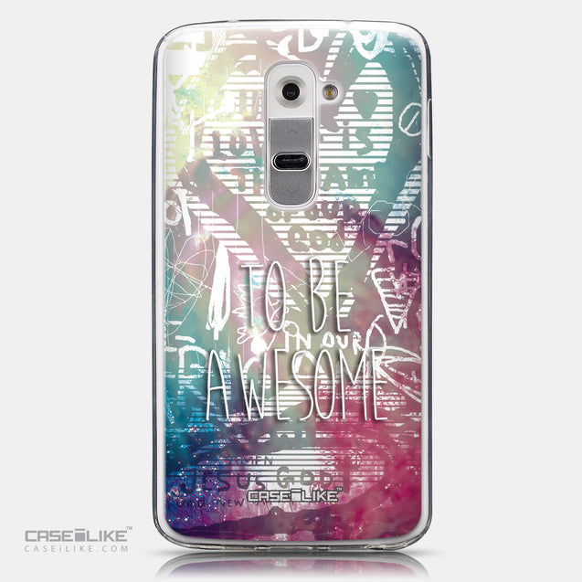 CASEiLIKE LG G2 back cover Graffiti 2726