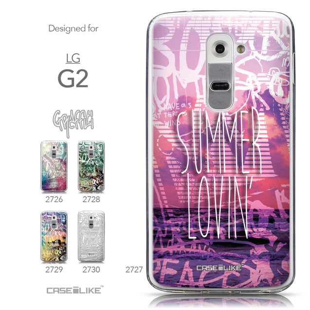Collection - CASEiLIKE LG G2 back cover Graffiti 2727