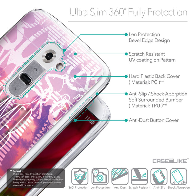 Details in English - CASEiLIKE LG G2 back cover Graffiti 2727