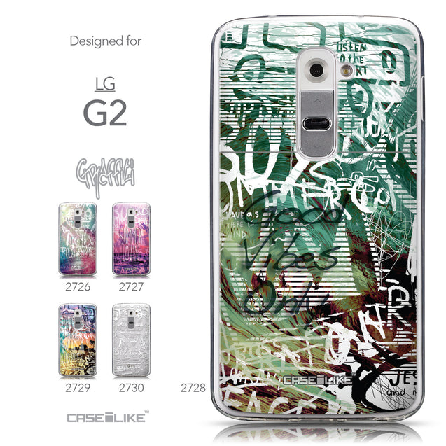 Collection - CASEiLIKE LG G2 back cover Graffiti 2728