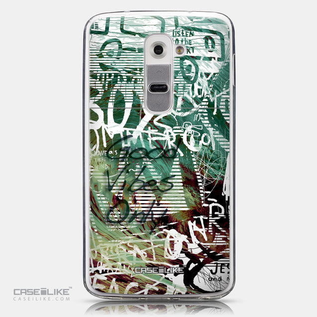 CASEiLIKE LG G2 back cover Graffiti 2728