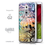 Front & Side View - CASEiLIKE LG G2 back cover Graffiti 2729