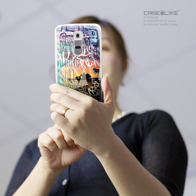 Share - CASEiLIKE LG G2 back cover Graffiti 2729