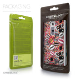 Packaging - CASEiLIKE LG G2 back cover Comic Captions Pink 2912