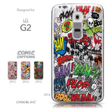 Collection - CASEiLIKE LG G2 back cover Comic Captions 2914