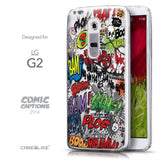 Front & Side View - CASEiLIKE LG G2 back cover Comic Captions 2914