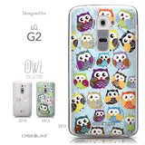 Collection - CASEiLIKE LG G2 back cover Owl Graphic Design 3312
