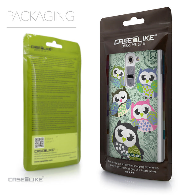 Packaging - CASEiLIKE LG G2 back cover Owl Graphic Design 3313