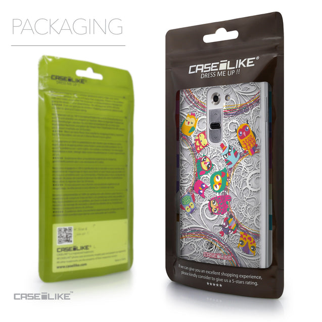 Packaging - CASEiLIKE LG G2 back cover Owl Graphic Design 3316