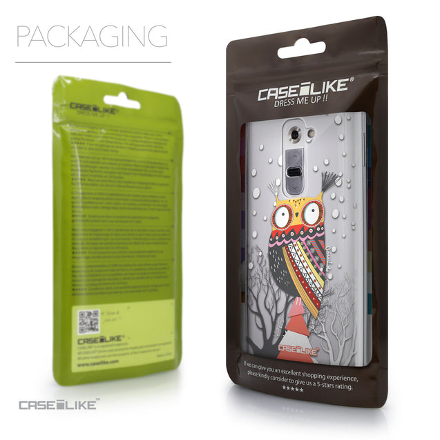 Packaging - CASEiLIKE LG G2 back cover Owl Graphic Design 3317