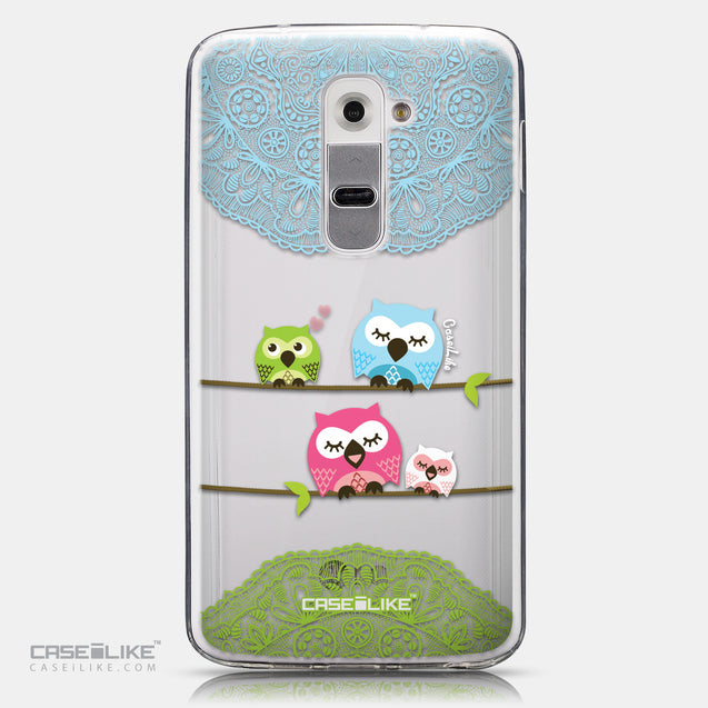 CASEiLIKE LG G2 back cover Owl Graphic Design 3318