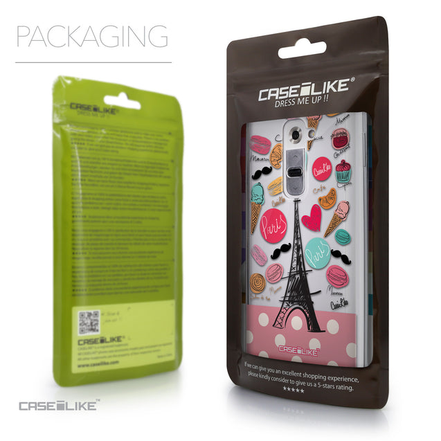 Packaging - CASEiLIKE LG G2 back cover Paris Holiday 3904