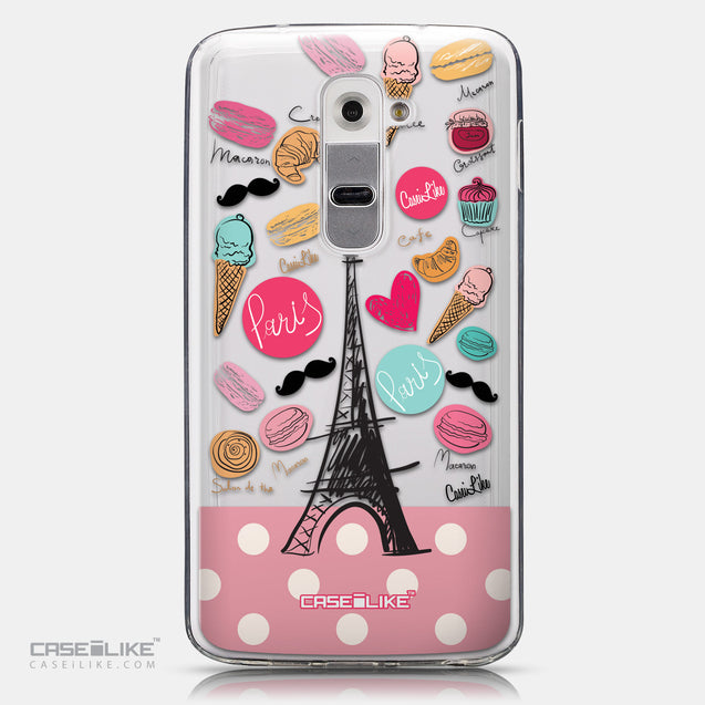 CASEiLIKE LG G2 back cover Paris Holiday 3904
